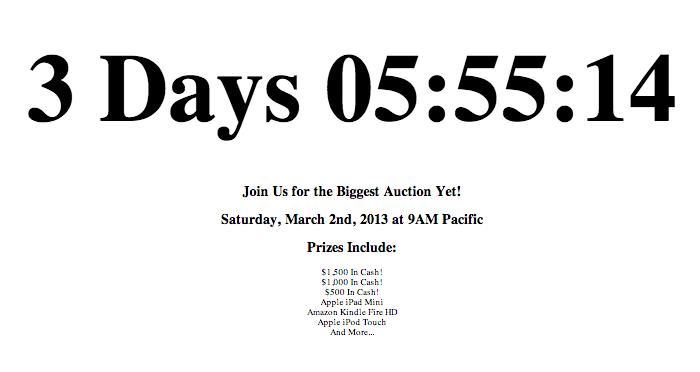 Auction Webinar