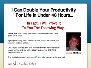 double your productivity for life